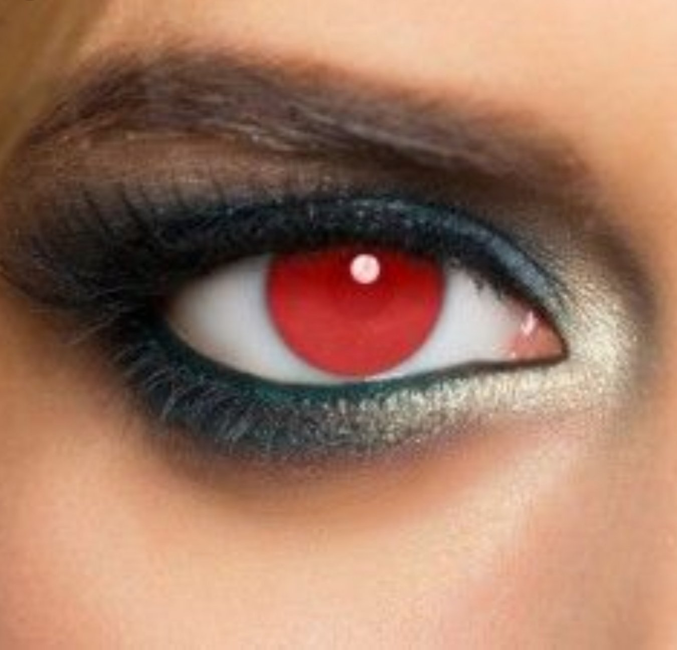 red contacts
